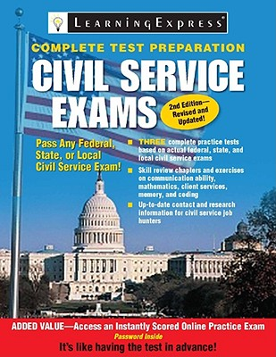 Civil Service Exams By Learning Express (COR)